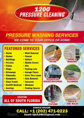 Avatar for 1200 Pressure Cleaning