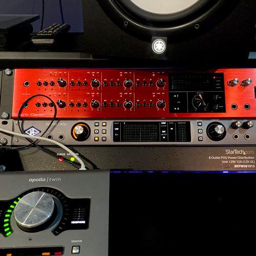 Apollo and Focusrite pre-amps