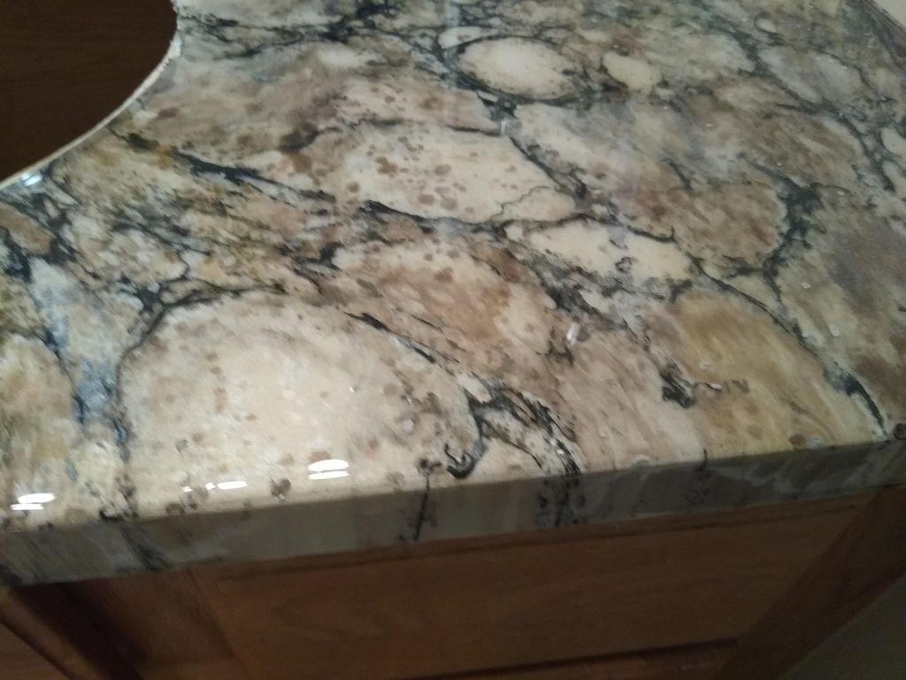 Master bath formica to granite epoxy