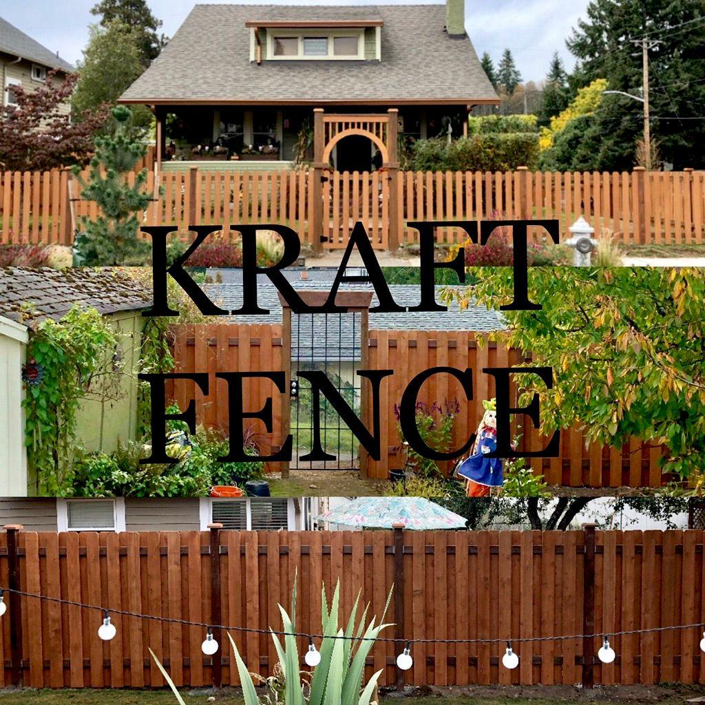 Kraft fence