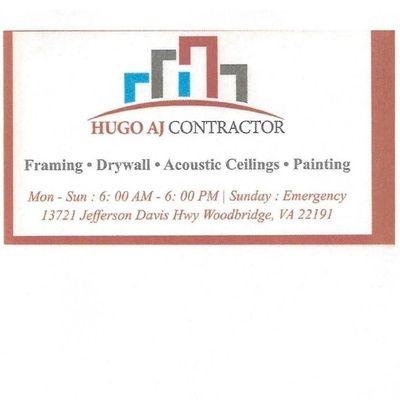 Avatar for Hugo AJ Contractor