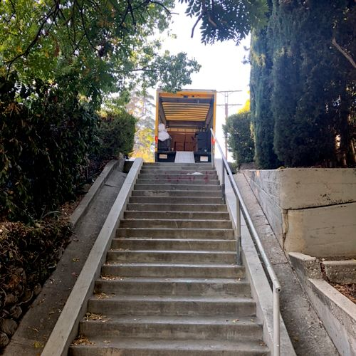 We have no stairs fees