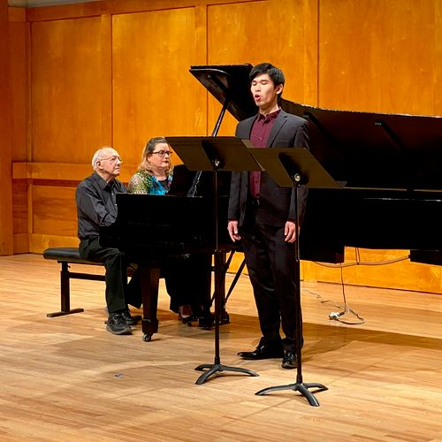 Performing Schumann's lieder with pianists Gilbert Kalish and Christina Dahl
