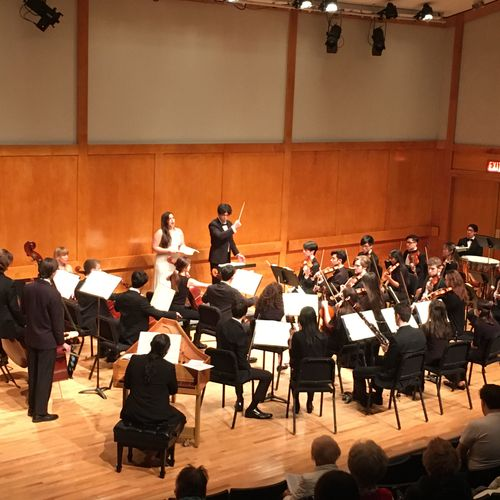 Conducting in a Messiah Sing Along Concert