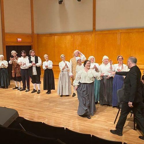Opera production at Stony Brook University