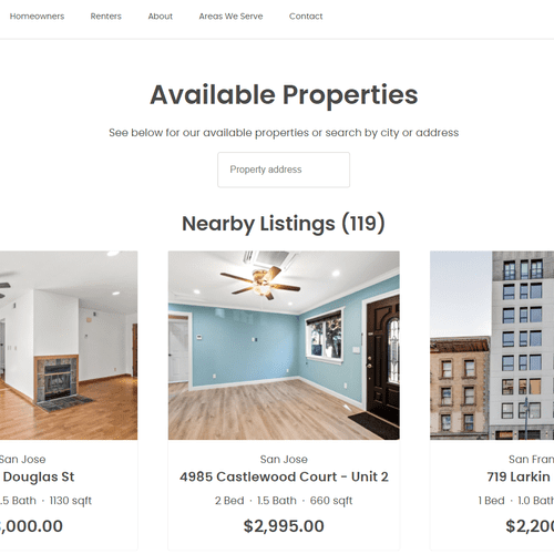 We have 100+ listings for rent so we know the market and will find a qualified tenant faster than anyone else!