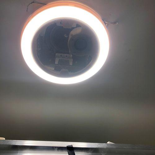 Bluetooth Bathroom Exhaust Fan Installation