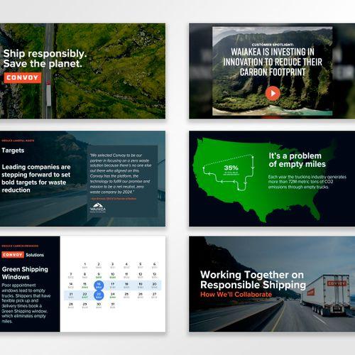 PowerPoint Design - Convoy