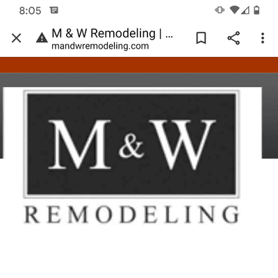 Avatar for M & W Remodeling