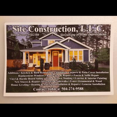 Avatar for Site Construction LLC