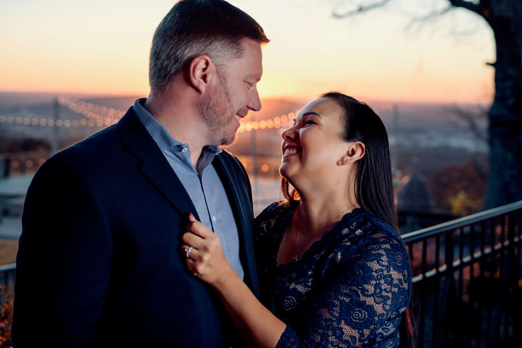 Engagement on the Mountain