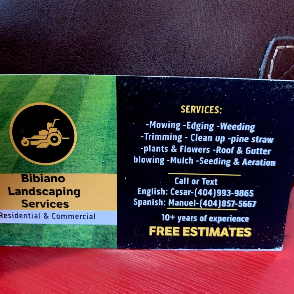 Bibiano Landscaping
