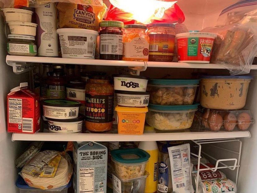 Fridge and Freezer Organization