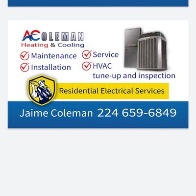 Avatar for A/Coleman Heating and Cooling