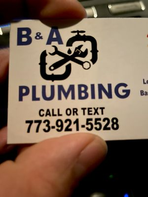 Avatar for B&A plumbing and sewer