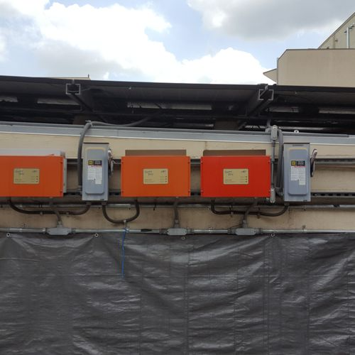 Inverter replacement for solar panel array