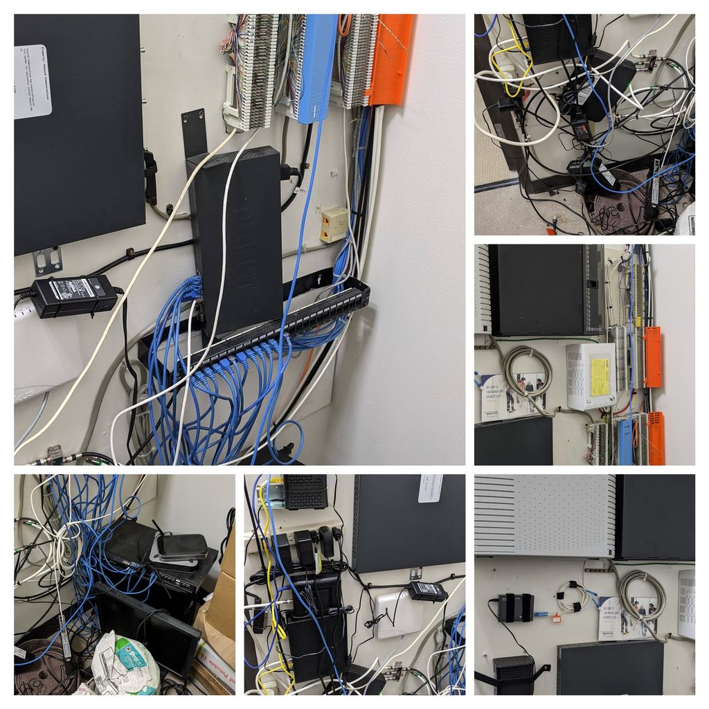 Network Wall Mess to Organized