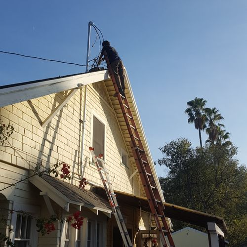 Residential service upgrade