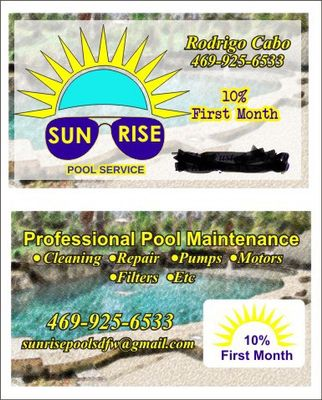Avatar for Sunrise Pools DFW