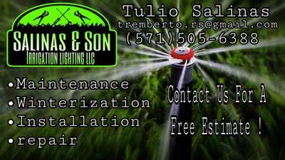 Avatar for Salinas & son irrigation lighting LLC