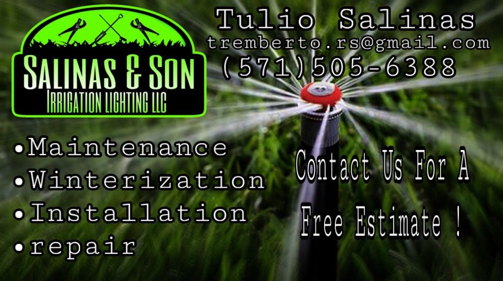 Salinas & son irrigation lighting LLC