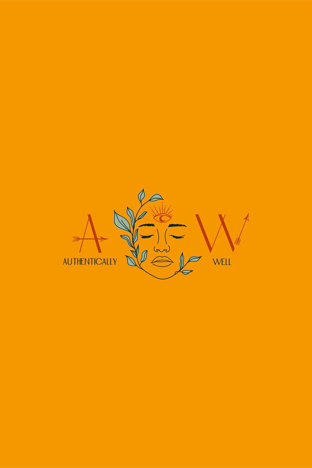 Authentically Well Logo