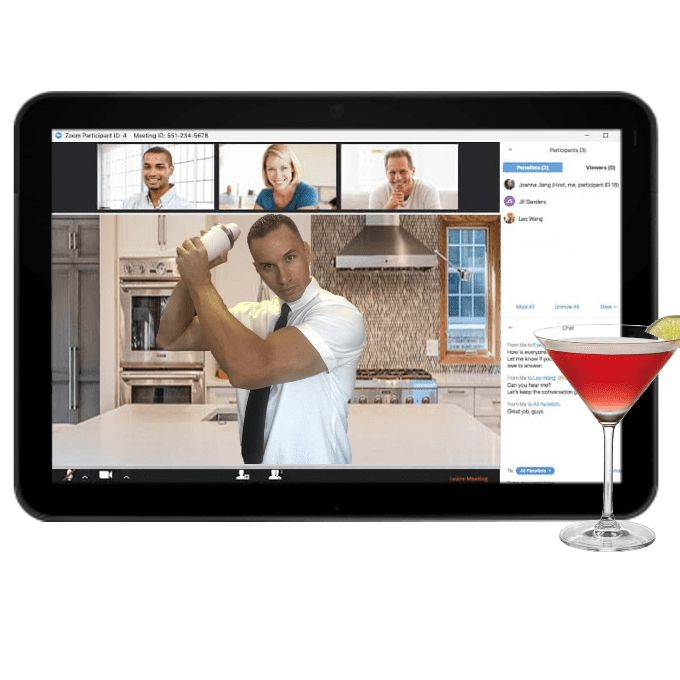 Virtual Classes & Mobile On-Site Bartending