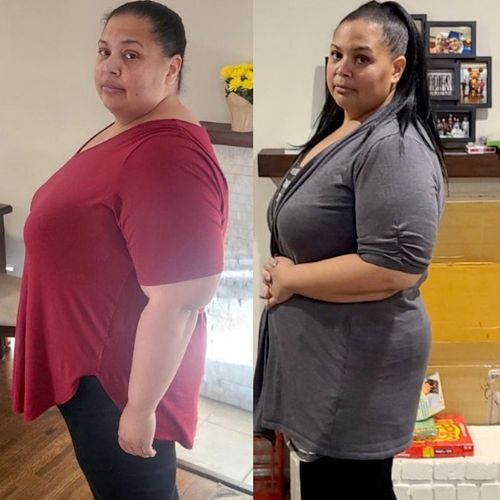 3 months of working together and she's 30 pounds down!!!