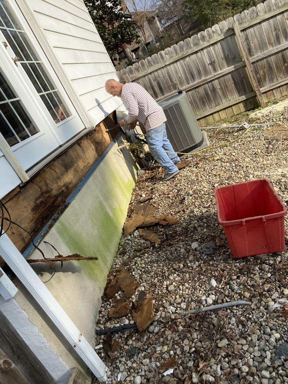 Deck porch remodel