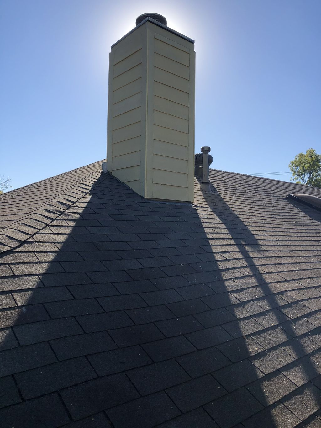 Chimney siding replacement