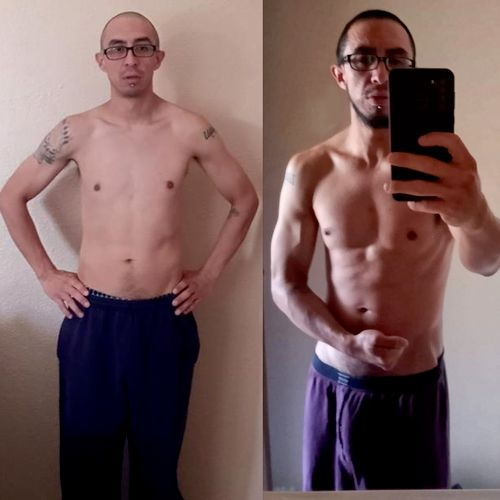 3 months, +12 lbs of muscle