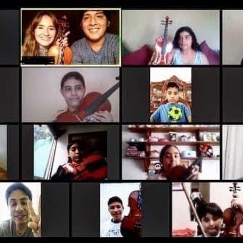 Masterclass with students from Orquestando Armonia (Veracruz-Mexico)