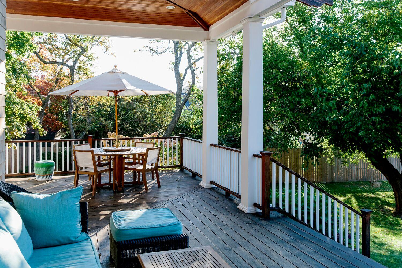 deck or porch