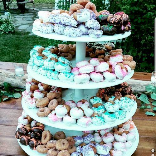 Mini Donut Cake