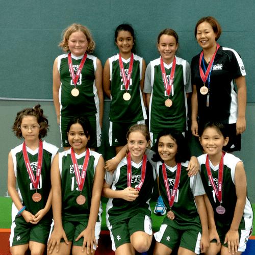 UWCSEA U11 Girls School Team
