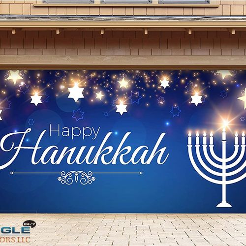 """To those who celebrate — """"Happy Hanukkah . . . May the lights of Hanukkah usher in a better world for all humankind."""""""
