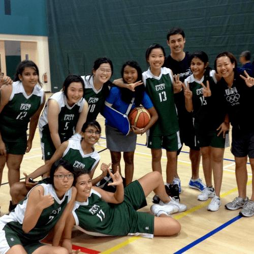UWCSEA U19 Girls Div 2 Team