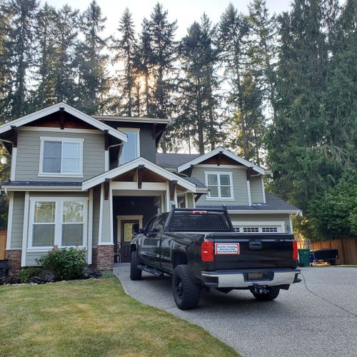 Exterior painting Woodinville