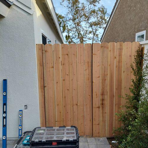6 ft Gate
