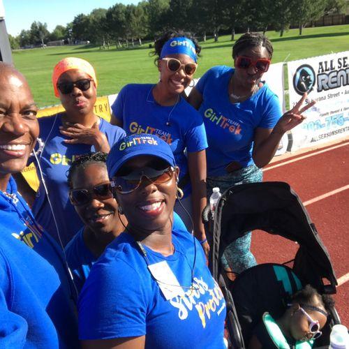 Ladies on the Track Wellness Walk