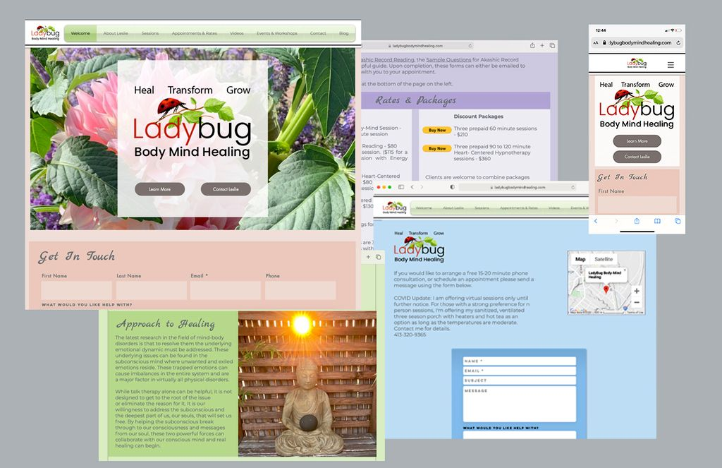 rebranding with new website