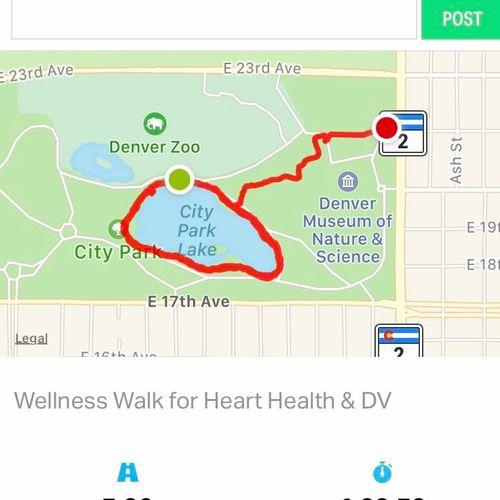 Wellness Walk for Heart Health & Domestic Violence