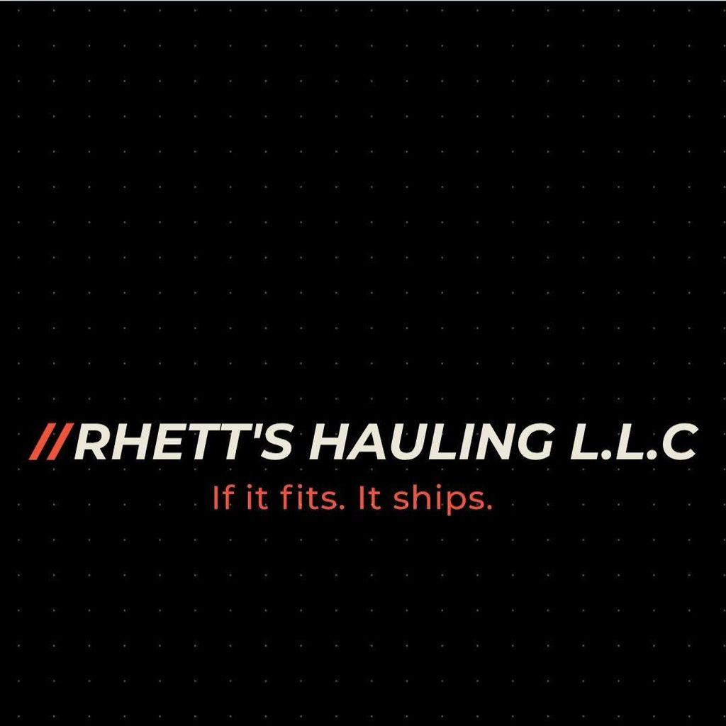 Rhett's Hauling