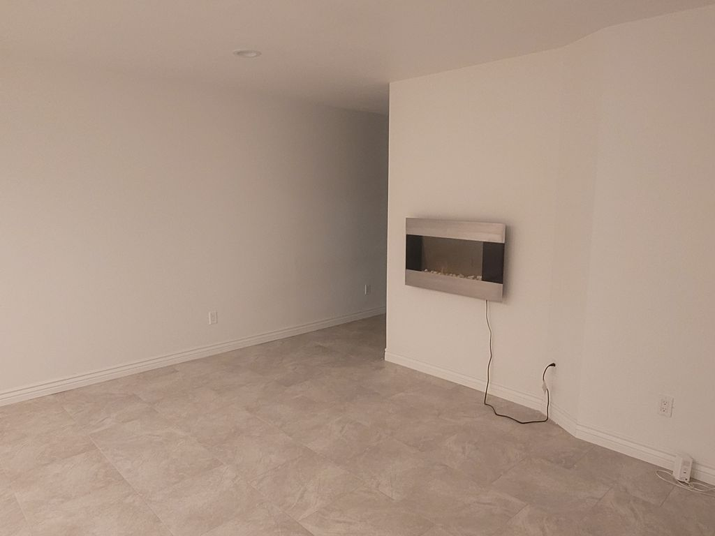 Old living room to new office space
