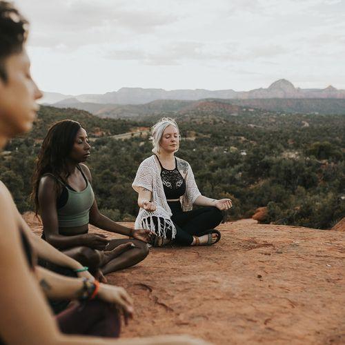 Retreat meditation