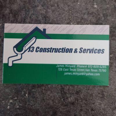 Avatar for J3 Construction & Services AKA James Minyard