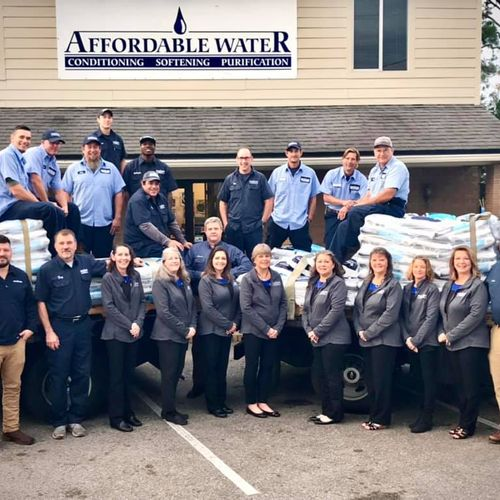 Our knowledgeable team...ready to help you with your water issues.