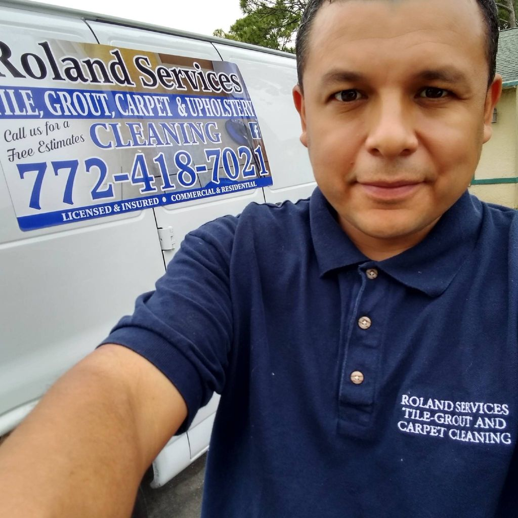 ROLAND SERVICES CARPET TILE GROUT CLEANING