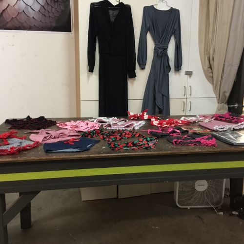 Kimie Leary Lingerie and Dresses