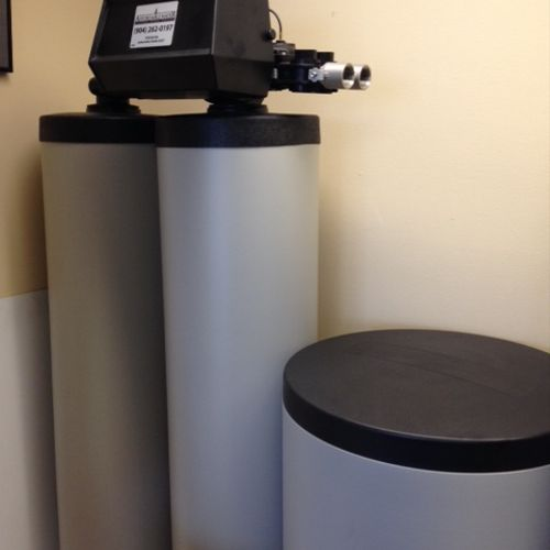 Twin alternating (no timer)...most efficient water softener on the market.